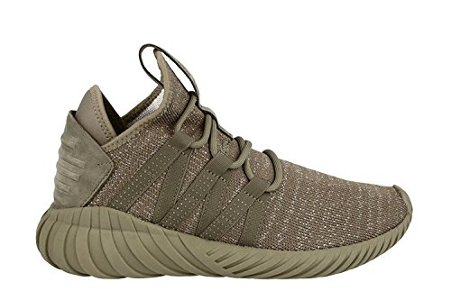 adidas Women's Tubular Dawn Originals Trace Cargo/Dark Green Running Shoe 6.5 Women US