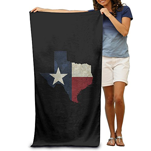 BEDOO State Of Texas Beach Towel For Adults / 31.5'' * 51.2''