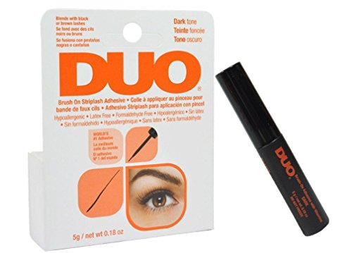Duo Brush On Striplash Adhesive Dark Tone 5g by Duo