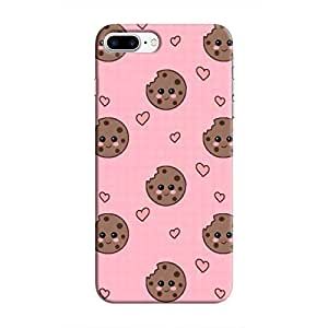 Cover It Up Cookie love Hard Case for iPhone 8 Plus - Multi Color