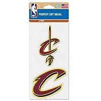 "NBA Cleveland Cavaliers Die-Cut Decal (2 Piece), Blue, 4"" x 8"""