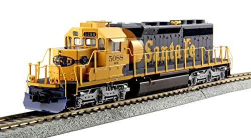 Kato USA Model Train Products HO EMD #5088 SD40-2 Mid Production Santa Fe Train