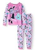 AME Disney Vampirina Little Girls Toddler Cotton Pajama Set,Pink,3T