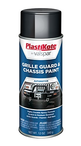 (PlastiKote 193 Gloss Black Chassis and Grille Guard Paint - 12 Oz.)