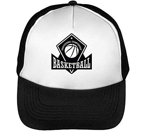 Championship Gorras Blanco Snapback Badge Negro Sport Hombre Beisbol Basketball qtwHU8E