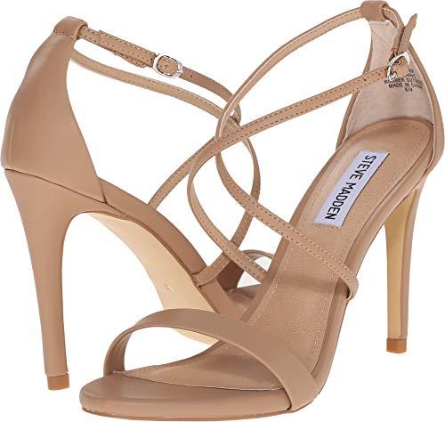 Feliz Dress Sandal, Natural, 7 M US ()