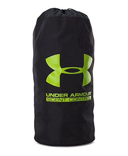 Under Armour Unisex Scent Control Ruck Sack, Black/Velocity, One Size