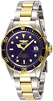 Invicta Mens Pro Diver Collection Two-Tone Stainless Steel Watch