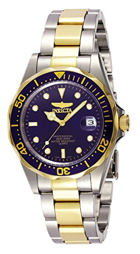 Invicta Men's 8935 Pro Diver Collection Two-Tone Stainless Steel Watch with Link Bracelet Collection Stainless Steel Bracelet