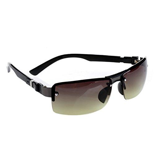 de Les aviateur rectangulaires de Soleil pêche Mode Vert Junlinto de Hommes Sports Lunettes de Mode Gris d'Eyewear conduisant des des 4qdzqwf7P