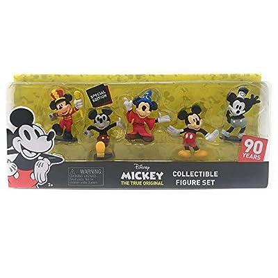 Disney 90 Years Special Edition Mickey The True Original Collectible Figure Set - 5 Piece