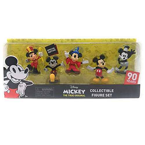 Disney 90 Years Special Edition Mickey The True Original Collectible Figure Set - 5 Piece -