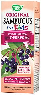 Natures Way, Sambucus Syrup Kids, 8 Fl Oz