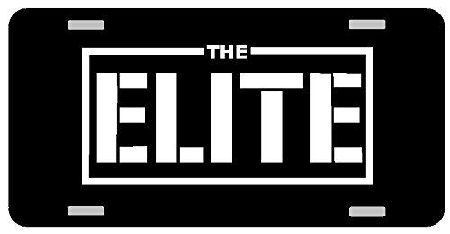 THE ELITE BULLET CLUB CAR TAG