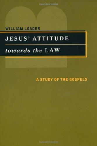 Jesus' Attitude Towards the Law: A Study of the Gospels (Inglese) Copertina flessibile – 1 ago 2002 William Loader Eerdmans Pub Co 0802849032 Religion / Sikhism