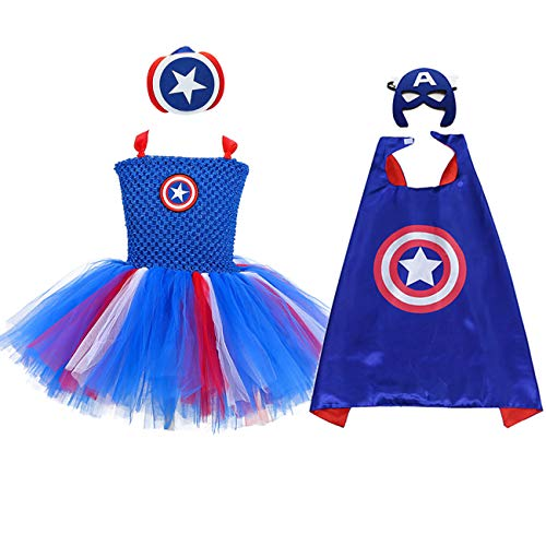 (AQTOPS Girls Supergirl Costumes)
