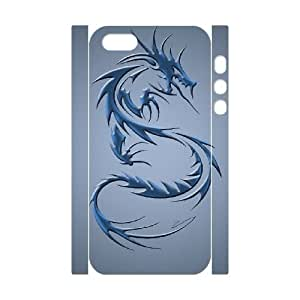 iphone5s Phone Case White Dragon tribal WQ5RT7434702