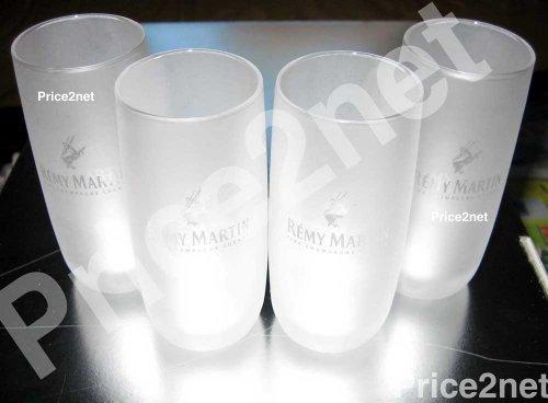 4pcs Remy Martin VSOP Cognac Frosted Shot Glasses, Wine Glass