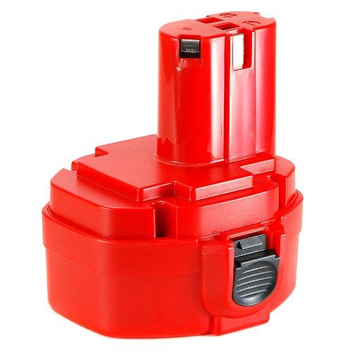 Batteria utensile Batteria 14.4 V 2.5 V 2500 mAh NI-MH per trapano avvitatore a batteria Makita 6236DWBE 1435 F