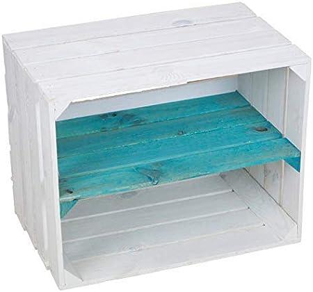 sólido Zapato bücherregalkiste Caja de fruta CAJA DE VINO MEDIDAS aprox. 50 x 40 x 31cm xxxaus la Viejo landxxxweinkisten cajas de fruta Caja de ...