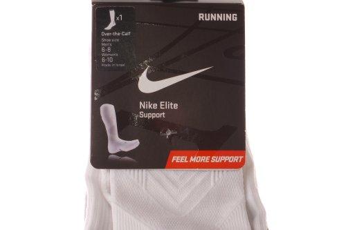 Nike Elite Anti-blister Lichtgewicht Otc Loopsokken, Wit