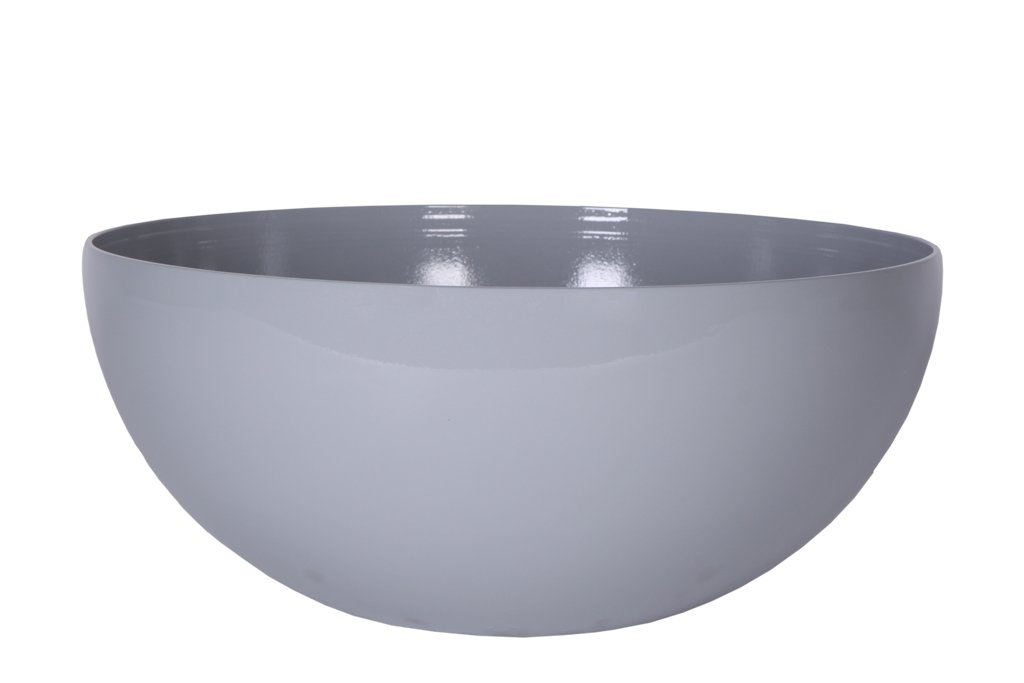 Art en Vogue flowerpot plant bowl Roto, high-gloss finish, Grey, 50x22cm 131751