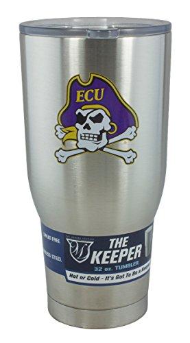 East Carolina Pirates Lamp - Memory Company NCAA East Carolina University The Keeper 32 oz. Stainless Steel Tumbler, One Size, Multicolor