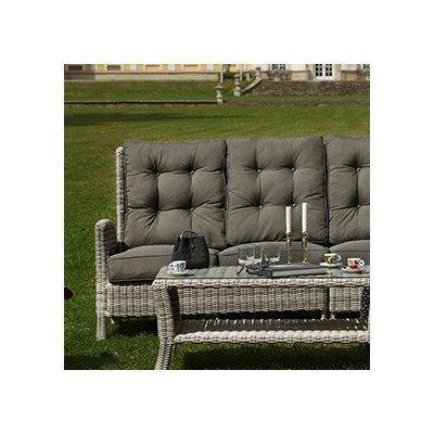 Sofa Granada mit Kissen