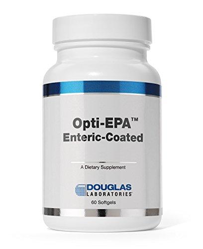 Opti Dha - Douglas Laboratories - Opti-EPA - Omega-3 Fatty Acids to Support Cardiovascular and Neurological Health* - Enteric Coated - 60 Softgels