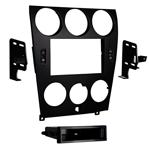 Metra 99-7524B Mazda 6 Double and ISO DIN Radio Install Kit for 2006-08 Double Iso Din Kit