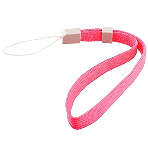 Insten 2 x Pink Wrist Strap Compatible With Nintendo Wii Remote Control / Controller (Wrist Strap Ds)