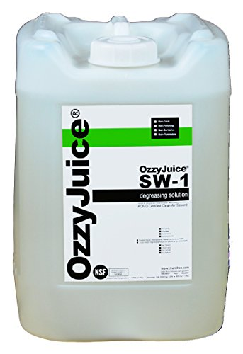 CRC Smartwasher Automotive and Ink Grade Liquid Cleaning Solution, 5 Gallon Jug, Honey by CRC