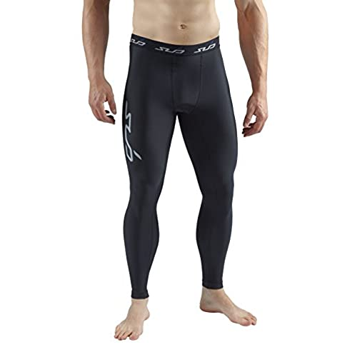 Sub Sports Mens Winter Warm Thermal Leggings Tights Base Layer Fleece -L