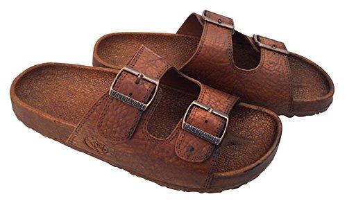 Pali Hawaii 2 Spänne Sandaler (stil 0438) Brun