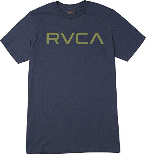 RVCA Men's Big Tee, Classic Indigo, XS (T-shirt United Classic)