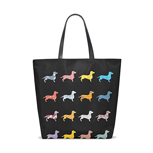 Buy dachshund tote bag