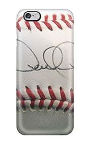 Snap-on Case Designed For Iphone 6 Plus- Derek Jeter Baseball