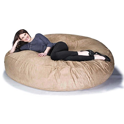 Jaxx 6 Foot Cocoon - Large Bean Bag Chair for Adults, -