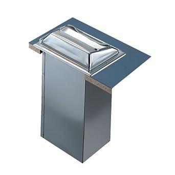 "San Jamar H2000 Stainless Steel In-Counter Minifold Napkin Dispenser, 750 Plus Capacity, 7"" Width x 19-5/8"" Height x 5-1/2"" Depth, Satin Stainless"