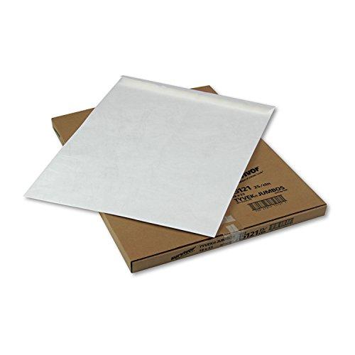 (Quality Park Jumbo Survivor Tyvek Envelope, 18 x 23, White, 25/BX (QUAR5121) )