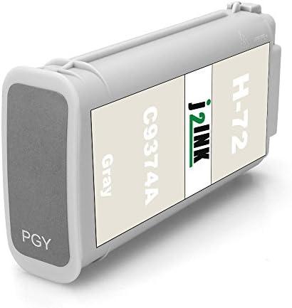 j2ink, 6 unidades de repuesto para HP 72 cartucho de tinta 130 ml ...