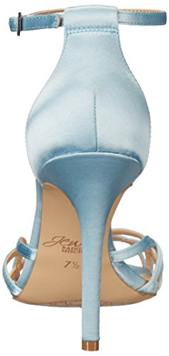 Badgley Mischka Womens Haskell Dress Sandal Blue Sky