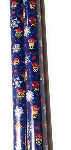 Minions Christmas Wrap Paper (2 Rolls) (Minions)