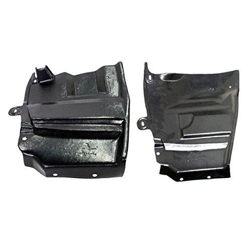 (Partomotive For Engine Splash Shield Under Cover Undercar 07-12 Altima Left & Right SET PAIR)
