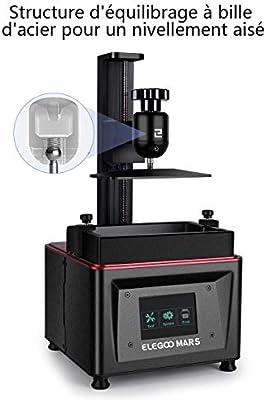 elegoo Impresora 3D LCD UV a photopolymérisation Mars con Pantalla ...