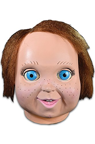 [Universal Studios Child's Play 2 Good Guy Doll Chucky Overhead Mask, One-Size] (Chucky Costumes For Children)