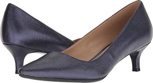 - Naturalizer Women's Pippa Navy Sparkle Metallic Leather 5 M US M (B)