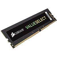 Corsair 8GB Kit (1x 8GB) 2133 MHz CL15 288-Pin DIMM DDR4 RAM Memory (CMV8GX4M1A2133C15)