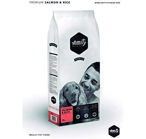 amity pienso para Perros Adulto Salmon Premium 15 kg: Amazon.es: Productos para mascotas