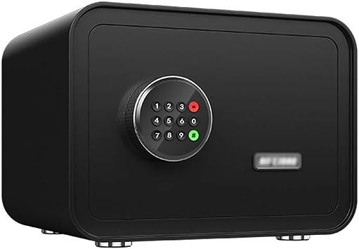 QFFL Caja fuerte,Safe Cajas Fuertes, Contraseña Caja de Seguridad Electrónica Digital Caja de la Cerradura con Sistema de Alarma para la Joyería Efectivo Documento Objetos de Valor Negro 2 Tamaños Di: Amazon.es: